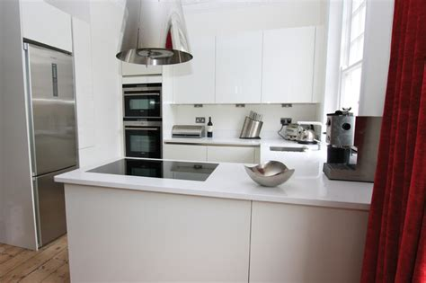 small kitchen design by lwk kitchens london modern small g shaped kitchen modern kitchen london by