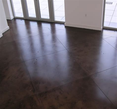 polishing concrete floors pros and cons grezu home