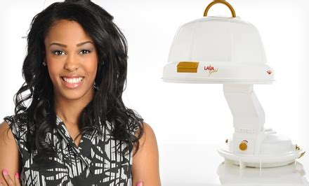 Lava Gold Hair Dryer Attachments lava gold bonnet hair dryer groupon goods