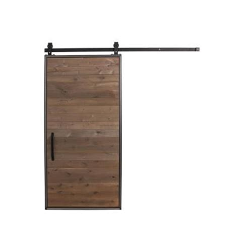 Door Hardware Home Depot by Rustica Hardware 36 In X 84 In Mountain Modern Home