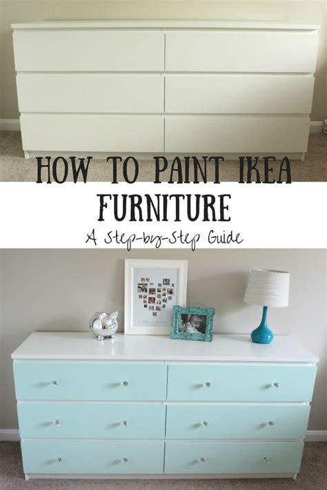 paint ikea laminate furniture diy furniture