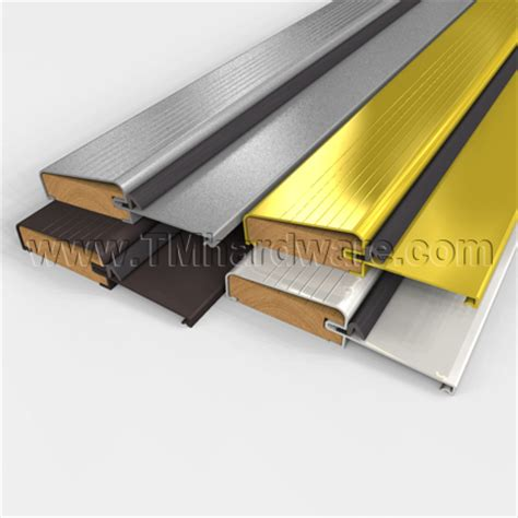 Aluminum Door Thresholds Exterior Residential Aluminum Fixed Threshold Outswing With Kerf In Foam Seal 1 H Made By Pemko And