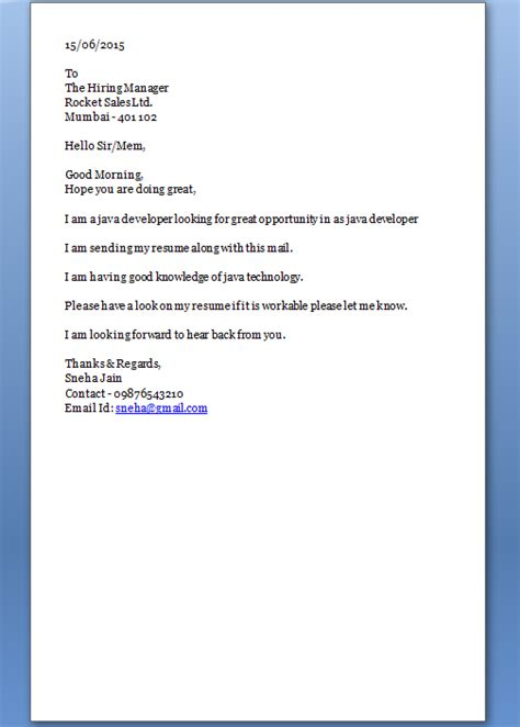 How To Start A Cover Letter how to start a cover letter