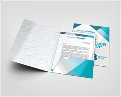 File Folder Mockup By Idesignstudio Net Folder Mockup Free