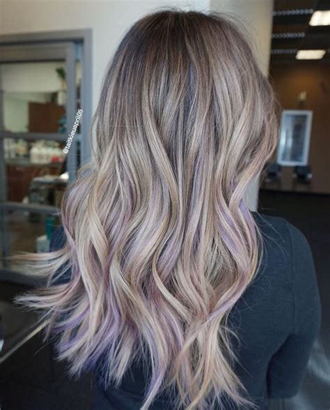 platinum bob with pastel highlights 17 best ideas about purple blonde hair on pinterest