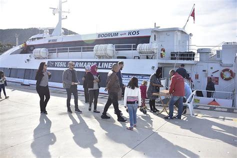 catamaran bodrum bugün bodrum dan yunanistan a katamaran feribot seferleri