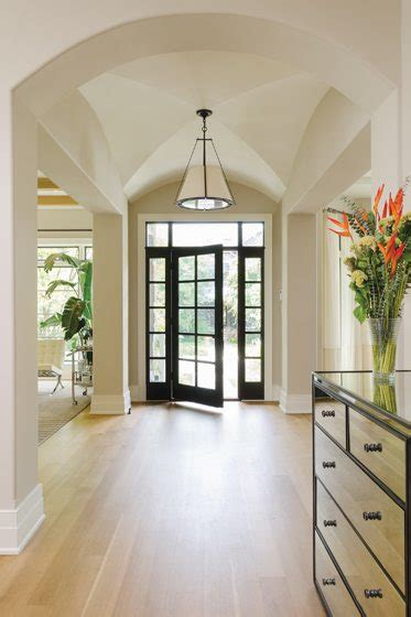 vaulted foyer out of the ashes home design magazine