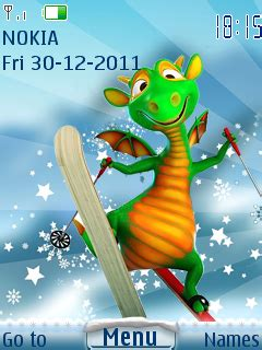 6300 themes cartoons download dragon 2012 nokia theme mobile toones
