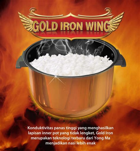 Inner Pot Magic Yong Ma Gold Iron Wing 2 L Tanpa Peganga S yong ma ymc 105 tank magic yongmasale