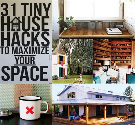 house hacks 31 tiny house hacks to maximize your space diy home things