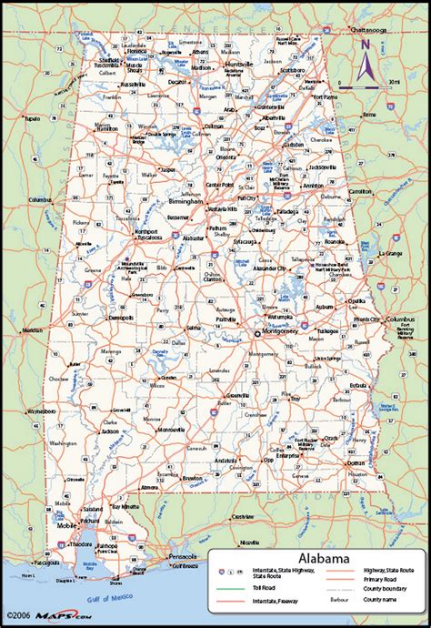 state of alabama map with cities alabama counties map maps