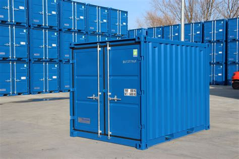 small storage container shipping containers 8ft steel store cx08 163