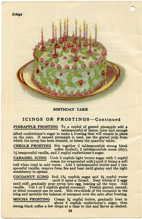 printable cing recipes cake fillings and frostings old design shop blog