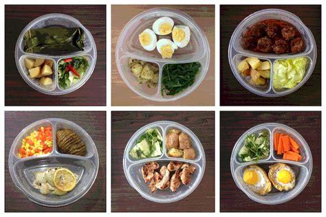 diet seminggu  makan nasi  olah raga