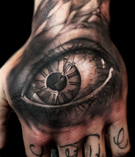left eye tattoo glass images designs