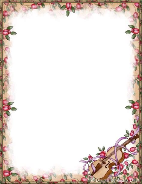 Wedding Writing Border by Pin By Lyuba Pavlovych On Stationery Letters Writing Paper