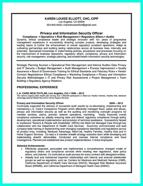 Compliance Analyst Cover Letter by Best Compliance Officer Resume To Get Manager S Attention