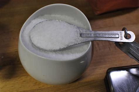 1 teaspoon kosher salt to table salt
