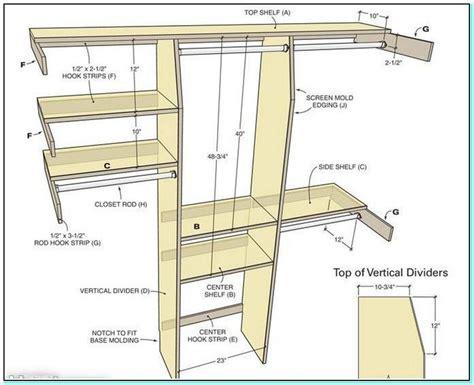 walk  closet dimensions standard build  closet