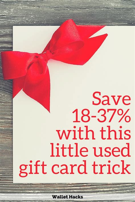 Used Gift Cards - how to save 18 37 on your purchases with a little used gift card trick