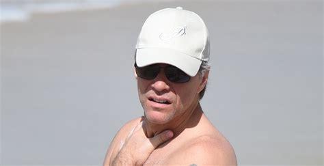 Jon Bon Jovi Shows Off Shirtless Body During St. Barts