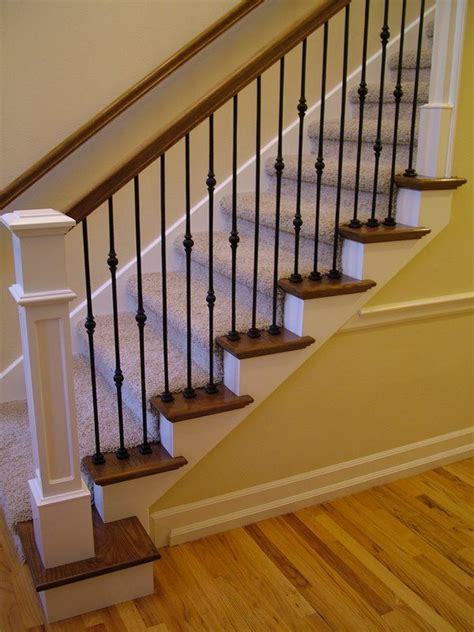 Replace Banister And Spindles by 25 Best Ideas About Iron Balusters On Iron