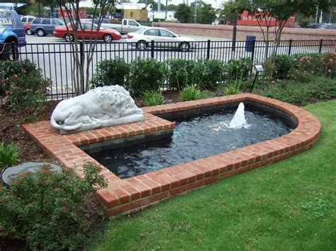 build a backyard bloombety build a pond with brick design how to build a