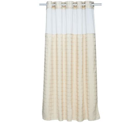 hookless shower curtain reviews hookless square tile jacquard 3 in 1 shower curtain page