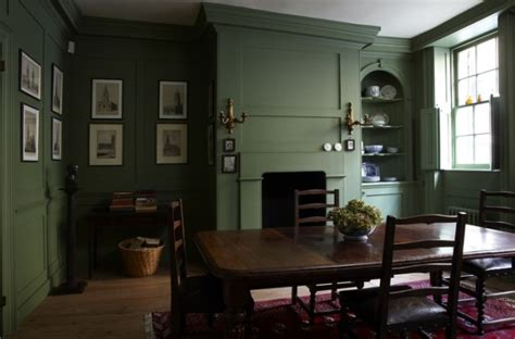 green painted rooms farrow and ball breakfast room green claire brody desgins
