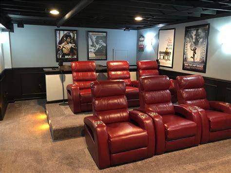 basement home theater basement finishing matrix