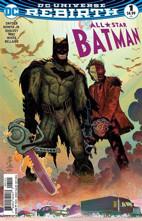 all star batman 2016 vol dc comics for august 10th 2016 the gaming gang