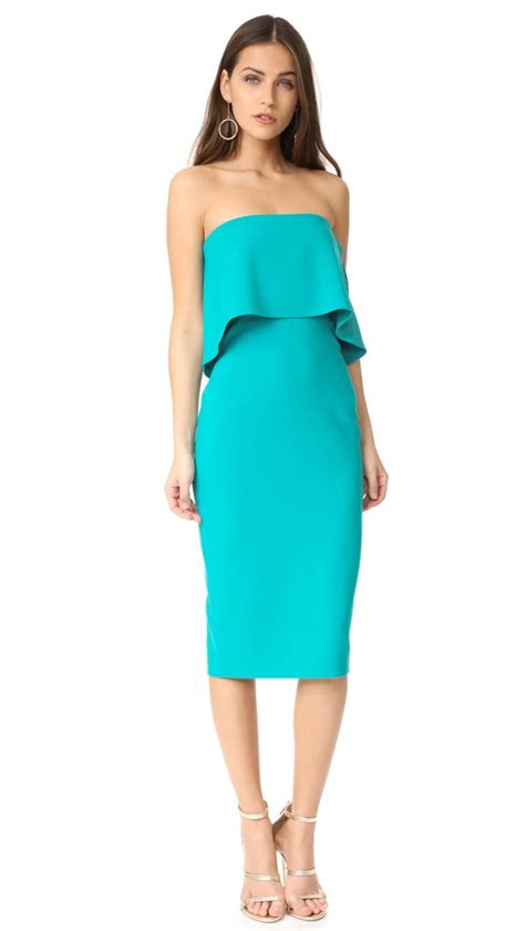 Trend Alert Turquoise Dresses For Fall by Strapless Dresses On Trend For The 2017 Kentucky Derby