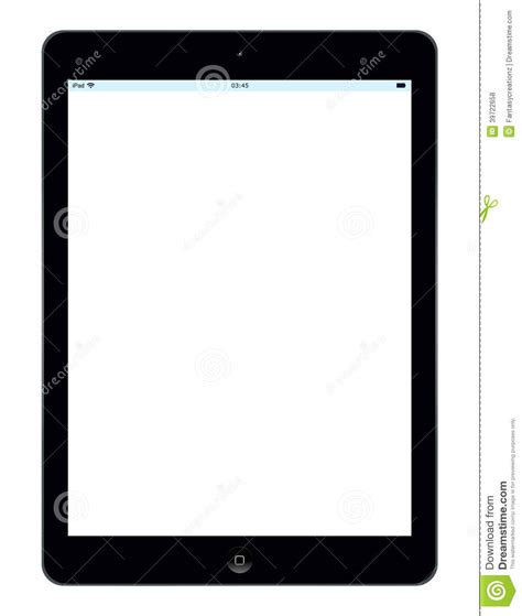 apple ipad air editorial stock photo illustration  icon