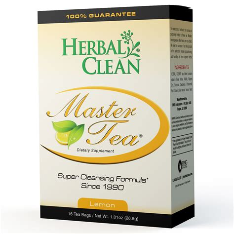 Lemon Juice Concentrate Detox Formula by Herbal Clean Master Tea Cleansing Formula Lemon