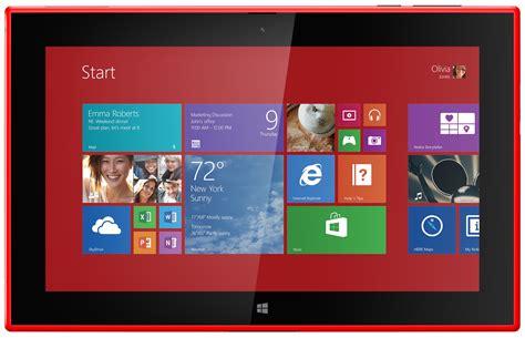 Tablet Microsoft Lumia lumia2520 home
