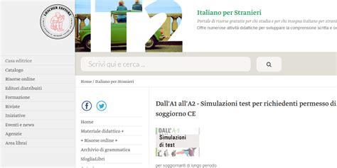 test per carta di soggiorno test italiano per stranieri carta di soggiorno