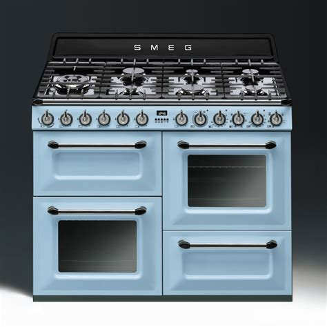 Burner Kompor Blue Gas 1 Tungku Original smeg tr4110az 110cm range cooker pastel blue hbh woolacotts cornwall and s premier