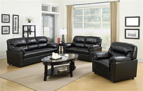 Living Room Furniture Factory Price Cheap Leather Sofa Set Low Priced Living Room Sets