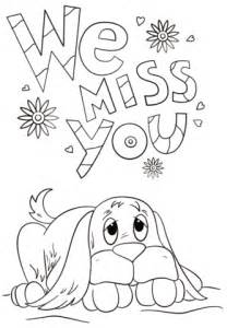 printable coloring pages miss you miss you printable coloring pages sketch coloring page