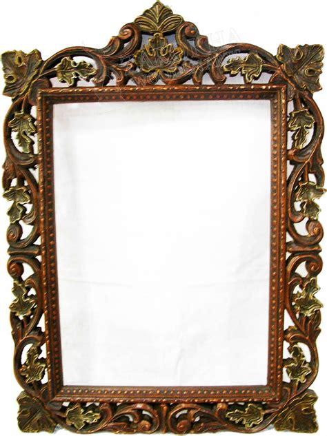 mirror frames zarokha wooden arts mirror frame