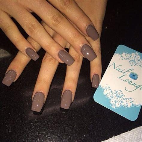 Colour Nail brown nail nail styling