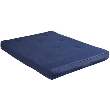 Futon Size Mattress by Dorel Home 8 Quot Size Futon Mattress Navy Walmart