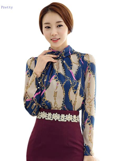 Blouse Korea Fashion Casual new arrival 2015 casual summer blouses korean fashion vintage sleeve sheer tops
