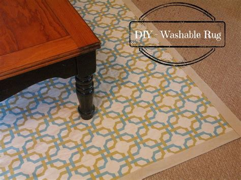 Diy Area Rug From Fabric Diy Washable Rug Diy For The Home Washable Rugs This And Fabrics