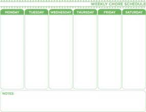 Weekly Chore Chart Template by Weekly Chore Chart Template Free Home