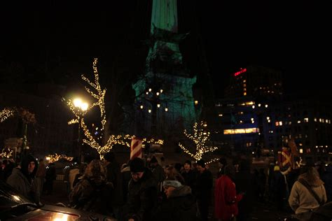 lighting of the christmas tree indianapolis tree lighting indianapolis