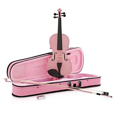 Biola Violin 1 4 student 3 4 violin pink by gear4music at gear4music