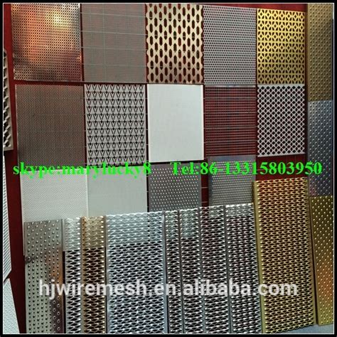 Treilli Soudé by Copper Sheet Perforated Metal Mesh Perforated Copper Sheet