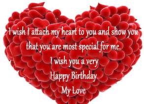 Happy Birthday Wishes In For Lover Birthday Wishes For Love Partner Birthday Messages