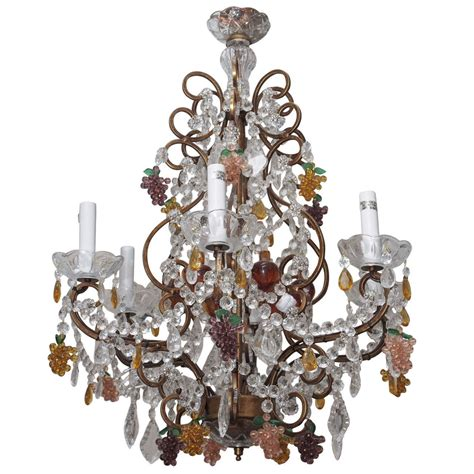 Grape Chandelier Chandelier With Grape Motif At 1stdibs